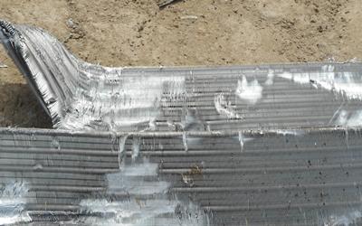 アルミ銅ラジエター
